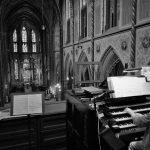Elmar an der Seifert Orgel in der Kevelaerer Basilika 2018